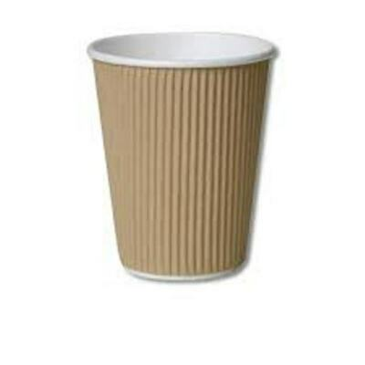 16oz Ripple Cups (Qty 500) Coffee Takeaway Disposable Cups
