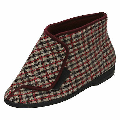 Wholesale Mens Bootee Slippers 24 Pairs Sizes 6-11  VB-GAWC1
