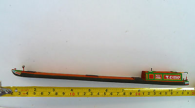 "OO Gauge Barge T.C.(Co) Ltd Livery. Approx 11"" Long"