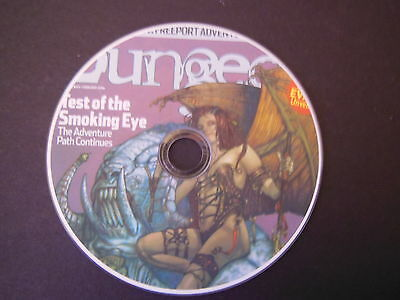 COMPLETE DUNGEON MAGAZINEon PRINTED DVD GREAT RPG