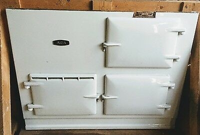 Aga Cooker 2 Oven, Fully Reconditioned, 13amp Electric in White, Del & Installed