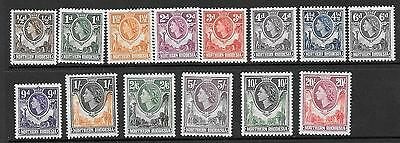 Northern Rhodesia Sg61/74 1953 Definitives Mnh