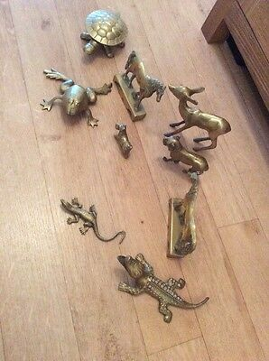 Brass Animals And Lizards