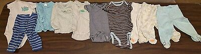 Boys Clothes Lot of 10 Size 3-6 Month