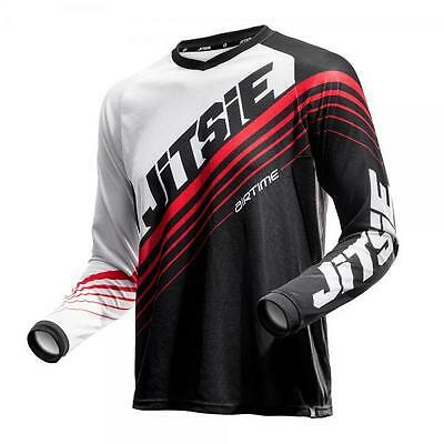 Jitsie Airtime Trials Shirt, 2016, Black/Red, Off Road Jersey