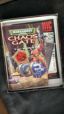 Warhammer chaos gate and belt buckle games workshop collectible big box skull