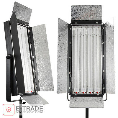 2x 220W Fluorescent Light - PANEL LAMP Kinoflo type - F&V - with diffuser