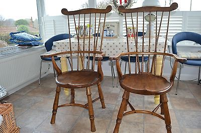 Antiques? A Pair Of Oliver Goldsmith Chairs