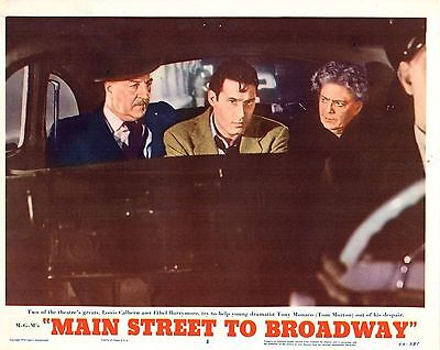 "5 Ethel Barrymore Mary Murphy Main Street To Broadway 11x14"" Lobby Cards LC231"