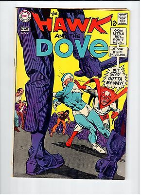 DC HAWK AND DOVE #4 Kane cover and art 1969 Vintage Comic