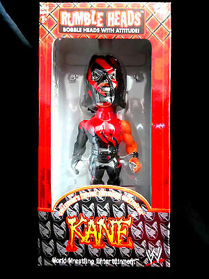 WWE Kane Rumble Heads Series #1 (Made in 2002 by Aspen) ***MINT IN BOX***