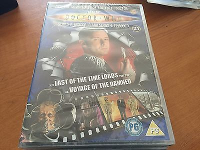 Doctor Dr Who Region 2 Dvd From The Dvd Files - Series 3 - Episodes 13 & Voyage