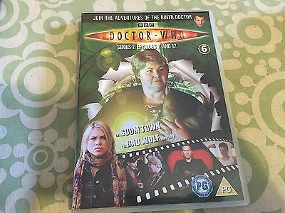 Doctor Dr Who Region 2 Dvd From The Dvd Files - Series 1 Eps 11 & 12