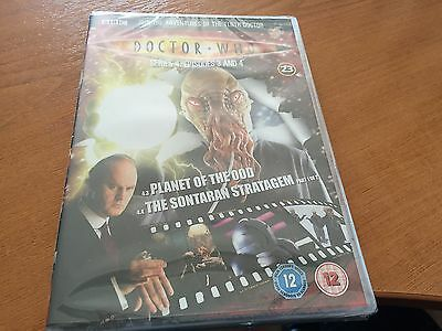 Doctor Dr Who Region 2 Dvd From The Dvd Files - Series 4 - Episodes 3 & 4