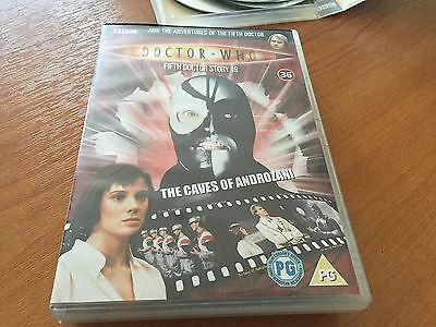 Doctor Dr Who Region 2 Dvd From The Dvd Files - The Caves Of Androzani