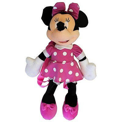 Disney Minnie Mouse Large Plush Doll Backpack