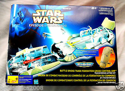 STAR WARS MICRO MACHINES Episode 1 Battle Droid Trade Federation Droid Ship