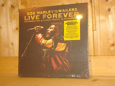 BOB MARLEY Live Forever Limited Deluxe Edition 3 LP + 2 CD BOX NEW SEALED