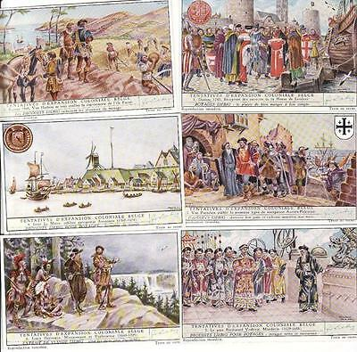 colonial expansion efforts 7 - 12 - 6 Liebig trade cards - san1578belb is 1953