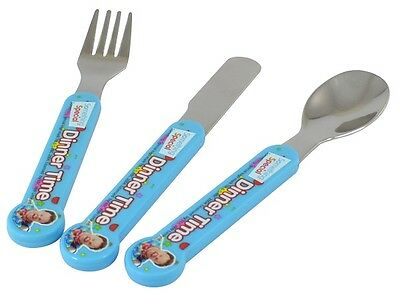 Mr Tumble | Something Special 3pc Mealtime Cutlery Set includes Knife Fork Spoon