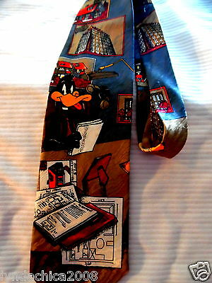 DAFFY DUCK Looney Tunes Necktie! Officially Licensed!