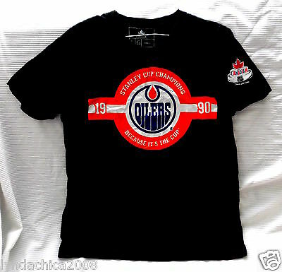 NHL EDMONTON OILERS Shirt Licensed By NHL & Coors Light (Size LARGE)