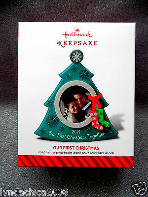2014 Hallmark Keepsake Ornament OUR FIRST CHRISTMAS ***Brand new in Box***