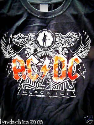 ACDC Black Ice 2008 Shirt (Size LARGE)