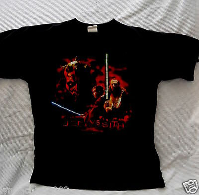 VINTAGE STAR WARS Jedi VS Sith Shirt (Size XL) ***Officially Licensed***