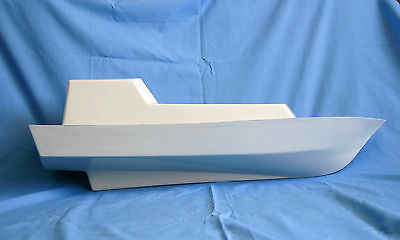 1/16th scale GRP pilot boat hull & superstructure
