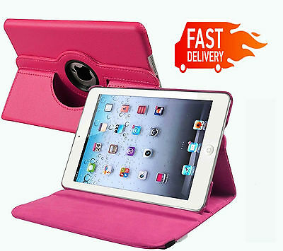 Leather 360 Degree Rotating Smart Case Cover For APPLE iPad 2 3 4 (P156