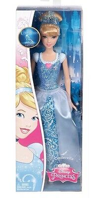 Disney Princess Sparkle Cinderella Doll Brand New Boxed