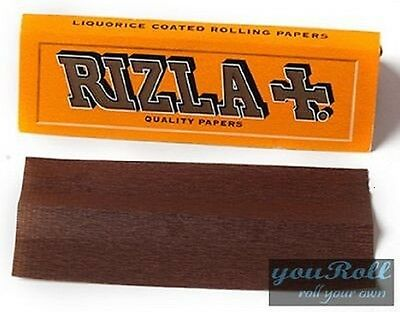 Rizla Liquorice Cigarette Smoking Rolling Papers TOP QUALITY 100% ORIGINAL