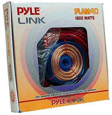 Pyle 4-Gauge 1600-Watt Amp Installation Kit (PLAM40)