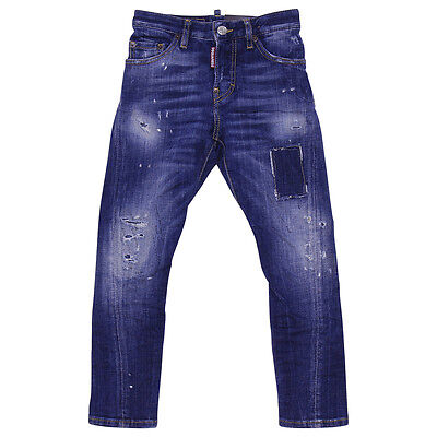 Dsquared2 jeans in denim destrutturato