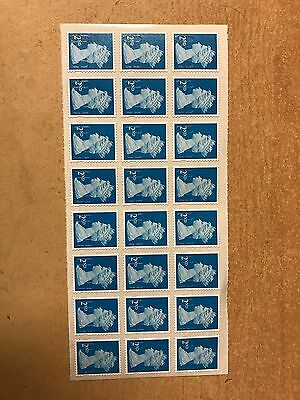 24 X 2nd Class Stamps Royal Mail New