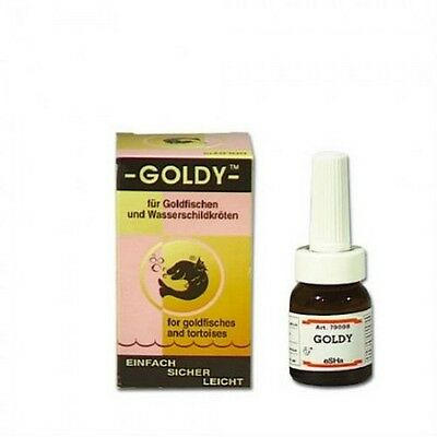 Esha Goldy 20Ml  Preventivo Acondicionador  Refuerza Las Defensas De Los Peces