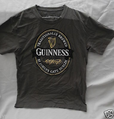 GUINNESS BEER Promo Shirt (Size LARGE)