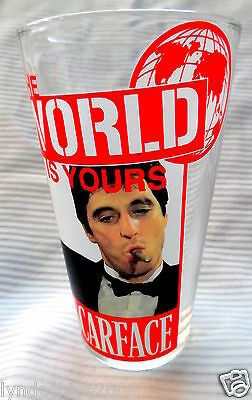 SCARFACE The World is Yours Collectible Glass ***BRAND NEW IN BOX***