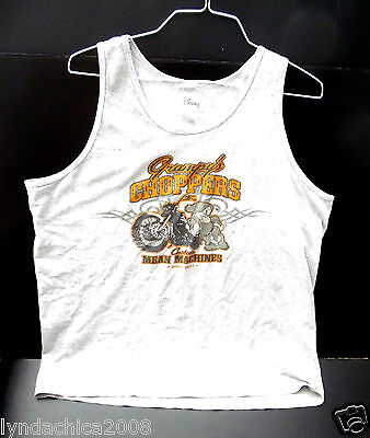 WALT DISNEY Grumpy Motorcycle Choppers Shirt (Size XL) ***Officially Licensed***