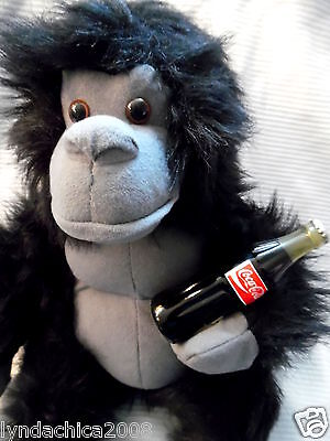 COCA COLA APE Plush Toy (15 INCHES) Licensed By Coca Cola