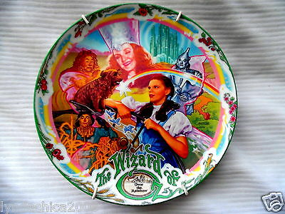 Vintage WIZARD OF OZ Collectible Musical Plate By Knowles 1993