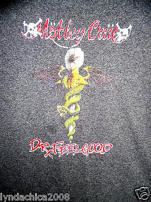 Vintage MOTLEY CRUE Dr. Feelgood Shirt (Size XL)