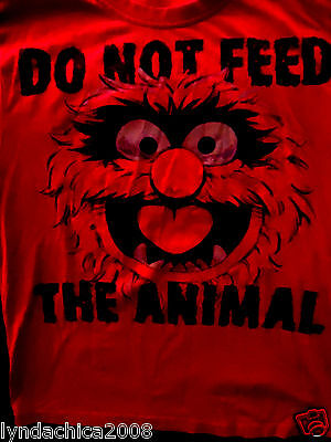DO NOT FEED THE ANIMAL Shirt (Size S) ***Licensed by Disney***