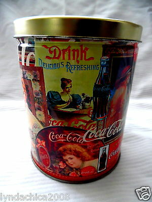 Coca Cola Victorian Print Jigsaw Puzzle in A Collectible Tin