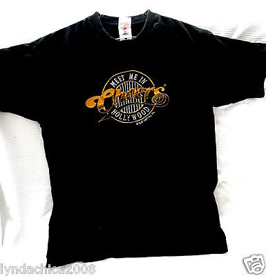 CHEERS HOLLYWOOD Embroidered Shirt (Size XL) Licensed Merchandise
