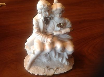 Vintage Porcelain couple figurine by Miriam made in Italy
