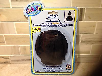 Webkinz Lil'Kinz  WITCH COSTUME Outfit by Ganz NWT Sealed Code