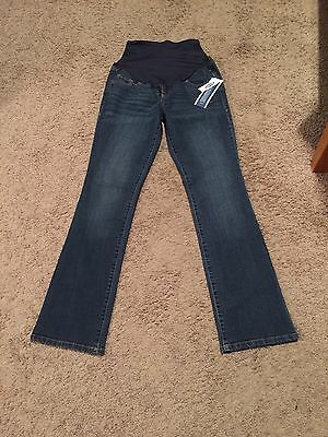 Old Navy Maternity Full Panel Boot Cut Jeans - Size 2 Regular - NWT!!