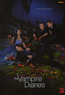 THE VAMPIRE DIARIES - A3 Poster (42 x 28 cm) - Paul Wesley Nina Dobrev Clippings